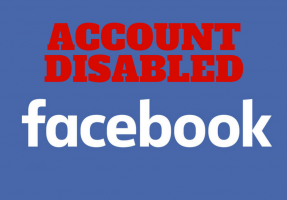 FACEBOOK ACCOUNT DISABLED